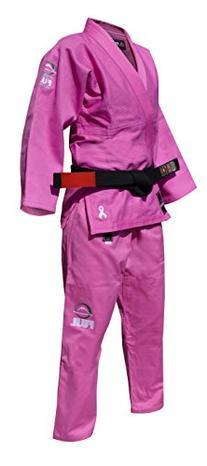 Fuji Kid's BJJ Uniform, Pink, WC0