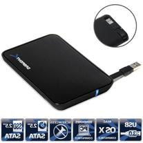 "USB 3.0 to 2.5"" SATA External Aluminum Hard Drive Enclosure"
