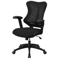 Flash Furniture BL-ZP-806-BK-GG High-Back Mesh Chair with