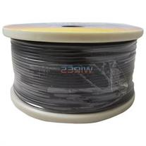 Black 18 Gauge AWG 500' Feet ft Stranded Primary Remote Wire