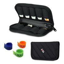 BUBM Black 9 x USB Flash Drives Carrying Case With Handy