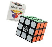 Black 3x3x3 MoYu AoLong V2 Puzzle