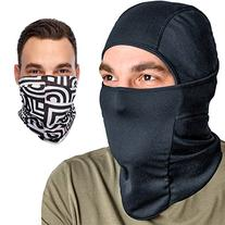 Balaclava Coolmax Motorcycle Facemask: Full Ski Mask +