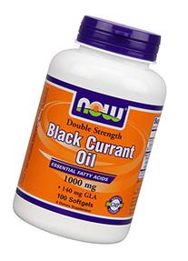 Now Foods Double Strength Black Currant Oil Dietary