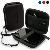 iGadgitz Black EVA Hard Travel Case Cover for Western