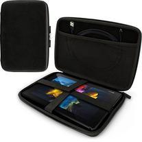iGadgitz Black EVA Travel Hard Case Cover Sleeve for Sony