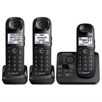 Panasonic Black Expandable Digital Cordless Phone with 3