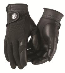 HJ Glove Men's Black Winter Performance Golf Glove, Medium,