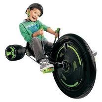 "Huffy Boy's Black Out Green Machine 20"" Trike - Black/Green"