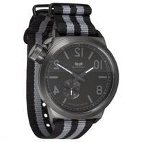 Men's Vestal Black/ Grey Canteen Zulu Watch CAN3N02