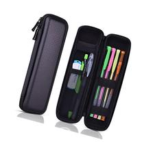 Kuuqa Black Hard Pencil Case EVA Hard Shell Pen Case Holder