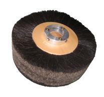 """Supreme 8"""" x 2"""" Black Horse Hair Brush Polish Wheel"""