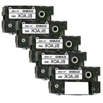 1 X Pack of 5 Casio Black Ink Ribbon Cassette Cartridge for