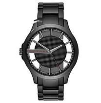 AX Armani Exchange Men's Black IP Stainless Steel Watch