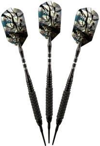 Viper Black Magic Soft Tip Darts, Coarse Knurling, 18 Grams