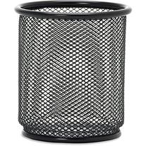 Lorell Black Mesh/Wire Pencil Cup Holder