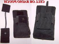New Black Molle Gear Radio Pouch Taigear