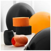 Black & Orange Decorating Kit