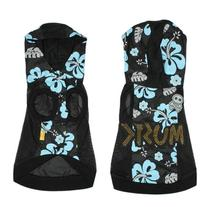 Black Polyester Rhinestud Inlaid Dog Clothes Hoodie Coats