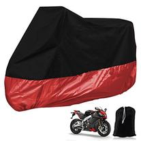 General Mega Black Red Motorcycle Waterproof Outdoor Vented