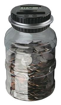 The Black Series Digital Counting Money Jar