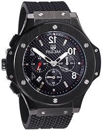 Emporio Armani 'Sport' Men's Black Silicone Chronograph