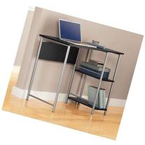 Black and Silver Basic Student Desk