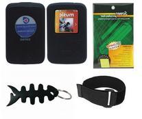 Black Soft Skin Case + Screen Protector + Armband + Smart