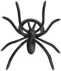 Oasis Supply 144-Piece Black Spider Ring Cupcake Topper