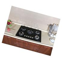 """30"""" New Black Tempered Glass Built-in Kitchen NG/LPG 5"""