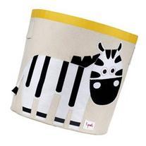 Black and White Zebra Storage Bin by 3 Sprouts - UBNZEB