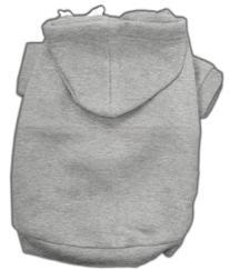Blank Dog Hoodie Grey M