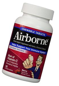 Airborne Blast of Vitamin C - 116 Chewable Tablets - Berry