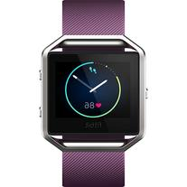 Fitbit Blaze Fitness Smart Watch - Large Plum Band