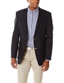 Tommy Hilfiger Men's Blazer, Navy, 44 Regular