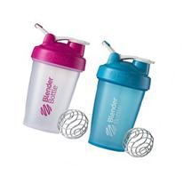 Blender Bottle 2-Pack Classic 20 oz Shaker w/ Loop Top -