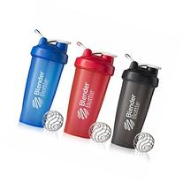 BlenderBottle 28oz Classic Loop Top Shaker Bottle 3-Pack,