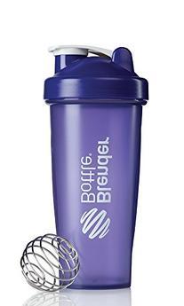 BlenderBottle Classic Shaker Bottle, Purple/Purple, 28-Ounce