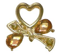 Bling Bling Mini Metal Jaw Clip Decorated with Gem-like