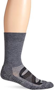 Balega Blister Resist Crew Socks, Charcoal, Small