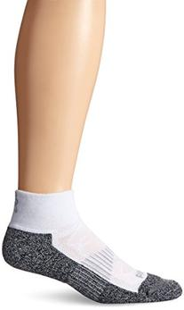 Balega Blister Resist Quarter Socks, White, Large