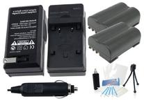 2-Pack BLM-1 High-Capacity Replacement Batteries with Rapid