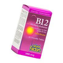 Natural Factors - Vitamin B12 Methylcobalamin 5000mcg,