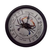 "9 1/2"" Blue Crab Tide Clock by West and Company"