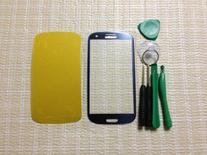 Pebble Blue LCD Glass Lens Replacement Samsung Galaxy S3 III