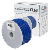 LD Blue 1.75mm 1kg Nylon Filament for 3D Printers