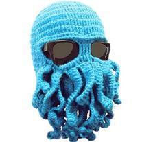 Dealzip Inc® Fashion Blue Octopus Cthulhu Shape Knitting