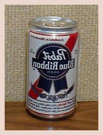 Pabst Brewing Company Pabst Blue Ribbon Beer Diversion Can