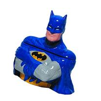 Batman Blue Suit Cookie Jar - Entertainment Earth Exclusive