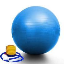 """PrimeTrendz TM Blue Yoga Ball 29"""" 75cm Exercise Pilates"""